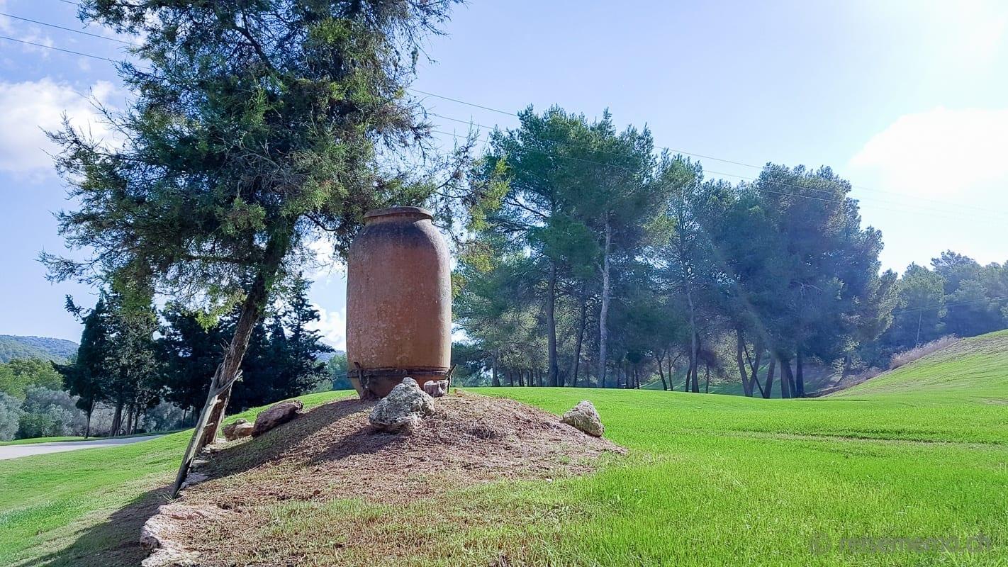 Amphore als Ikone von Golf Ibiza