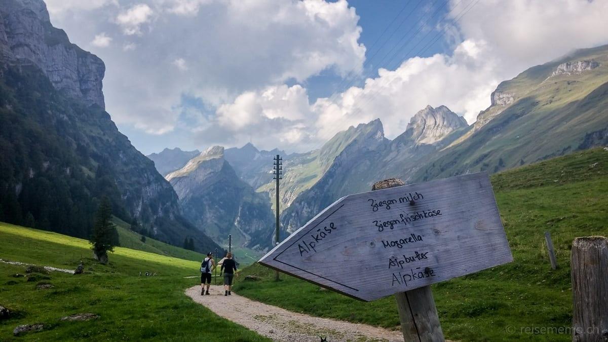 Alpine cheese waysign
