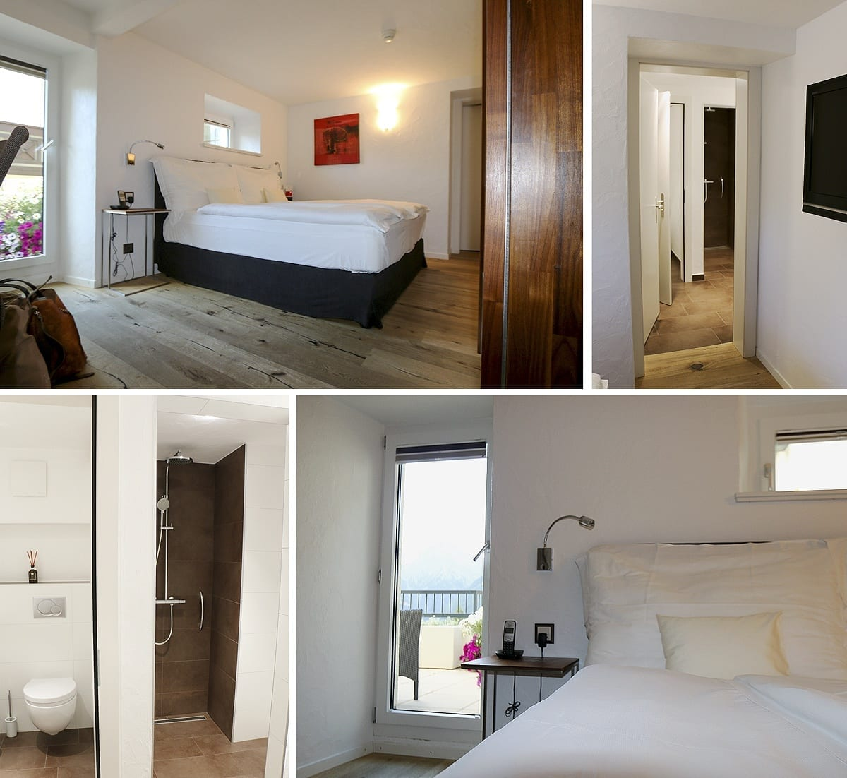 Zimmer Nr.25 Waldhotel Fletschhorn Saas Fee