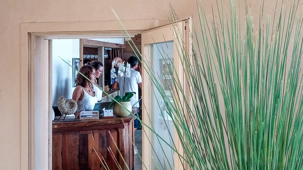 Empfang im Amante Ibiza Restaurant