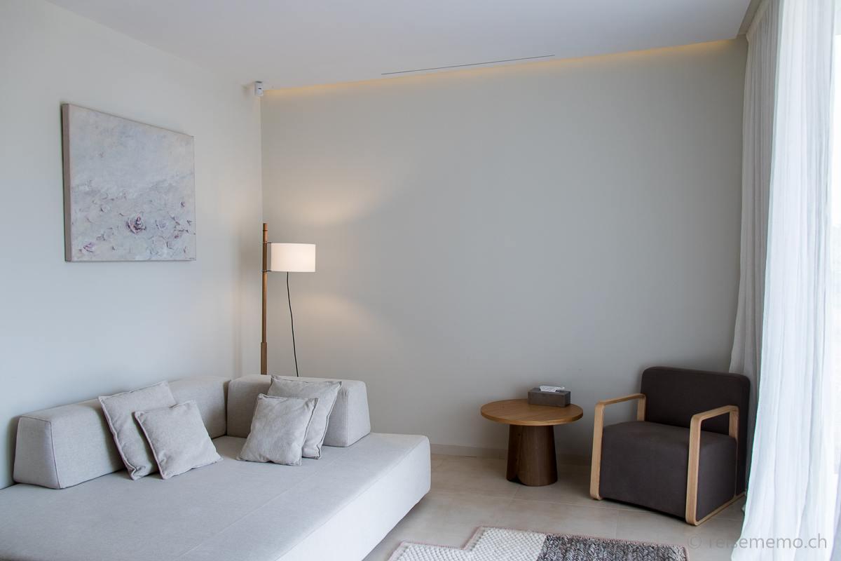 Wohnzimmer der Premiere Suite