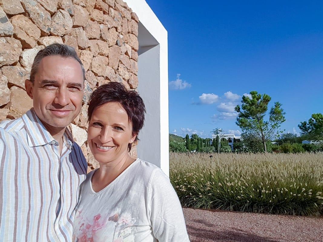 Katja Birrer und Walter Schärer im Ca Na Xica