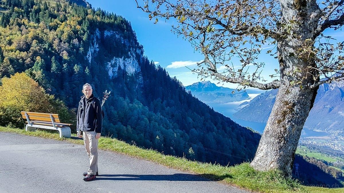 Walter Schaerer on the Stoos