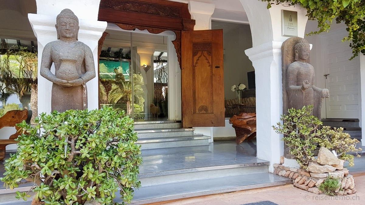 Entry to Hacienda