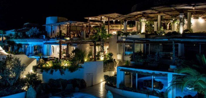 Die Hacienda Na Xamena am Abend