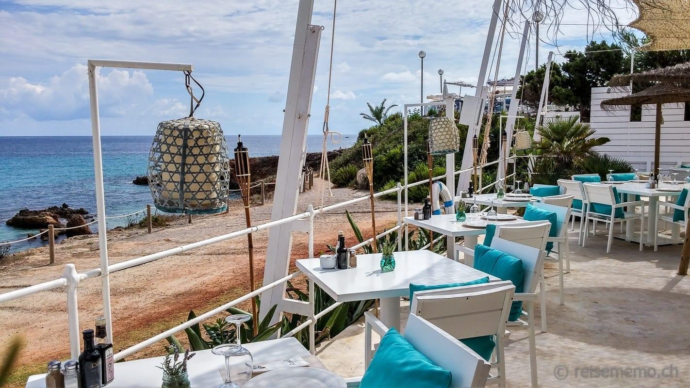 Terrasse des Atzaro Beach Clubs