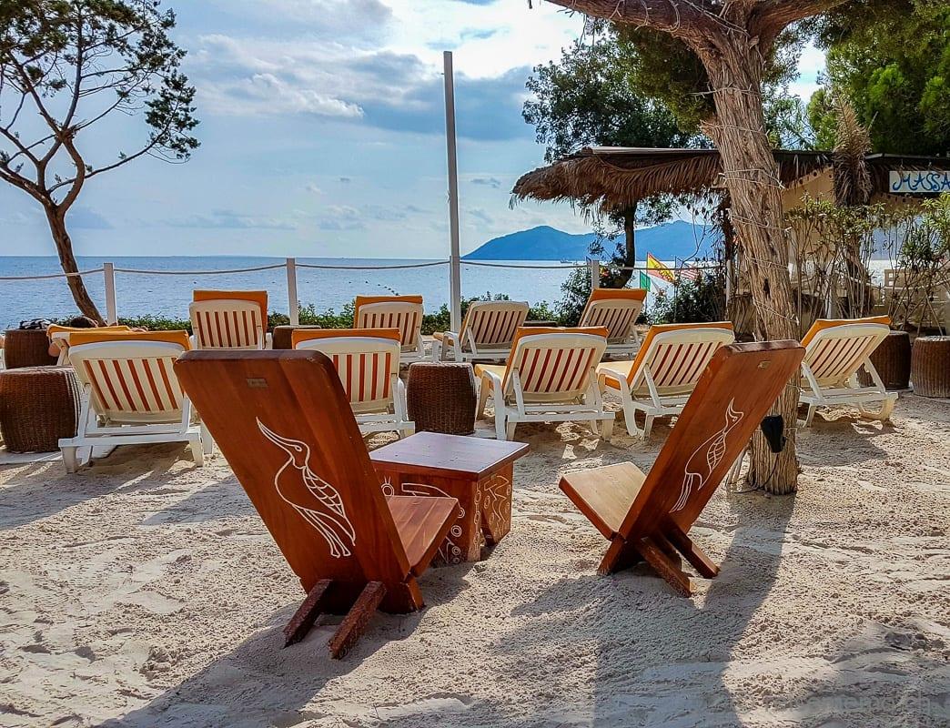 Strand des Nikki Beach Clubs