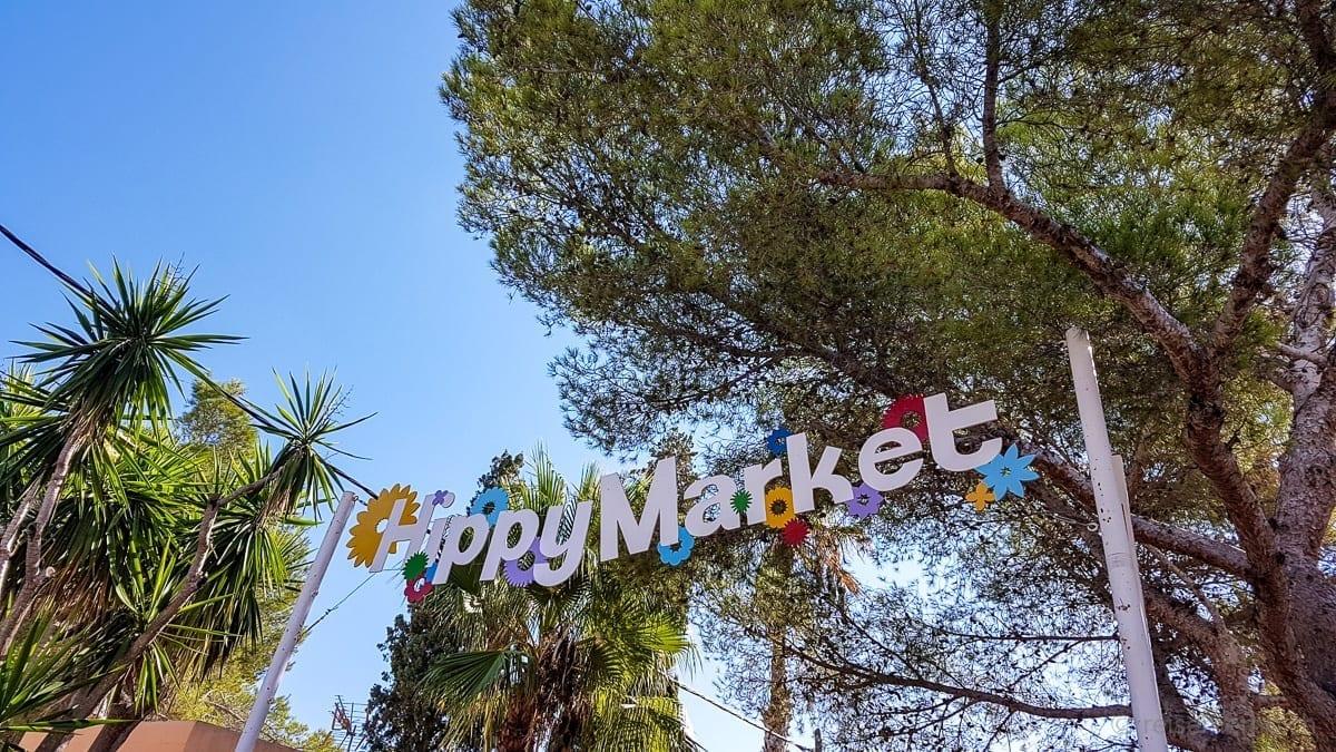 Hippiemarkt bei Punta Arabi