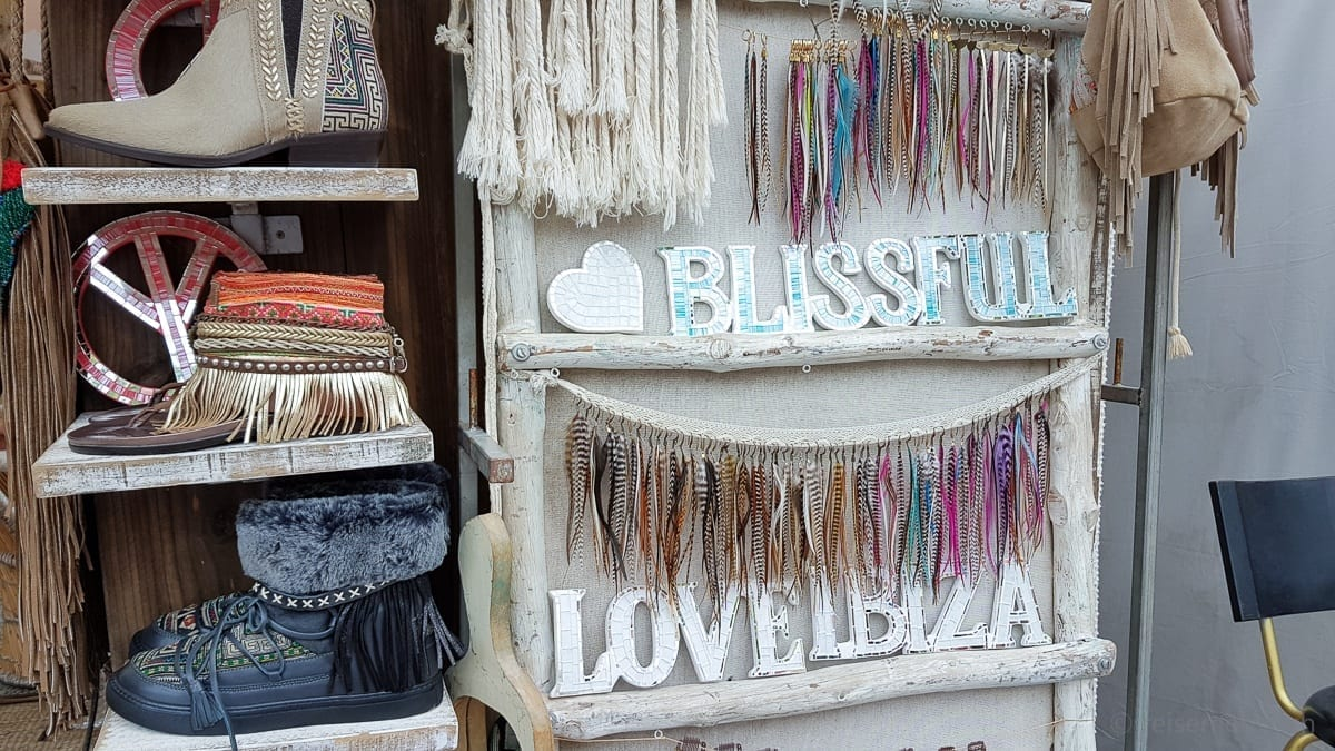 Hippie market at Las Dalias, Ibiza