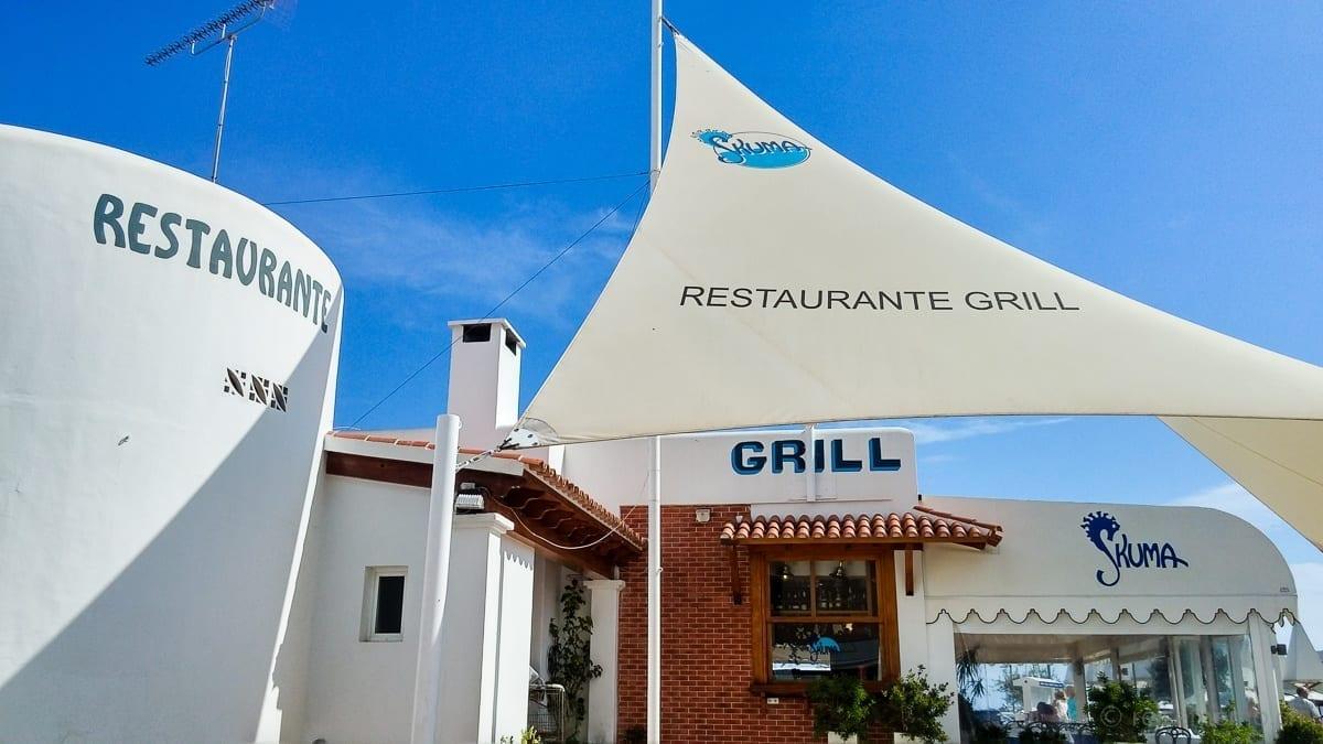 Restaurant Skuma in Santa Eularia