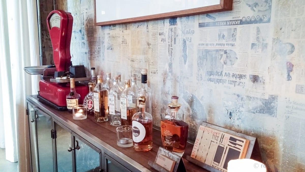 Spirituosen Bar Rüsterei