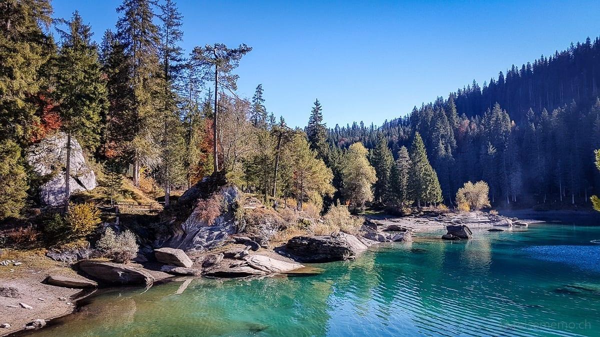 Wanderung vom Crestasee zum Caumasee