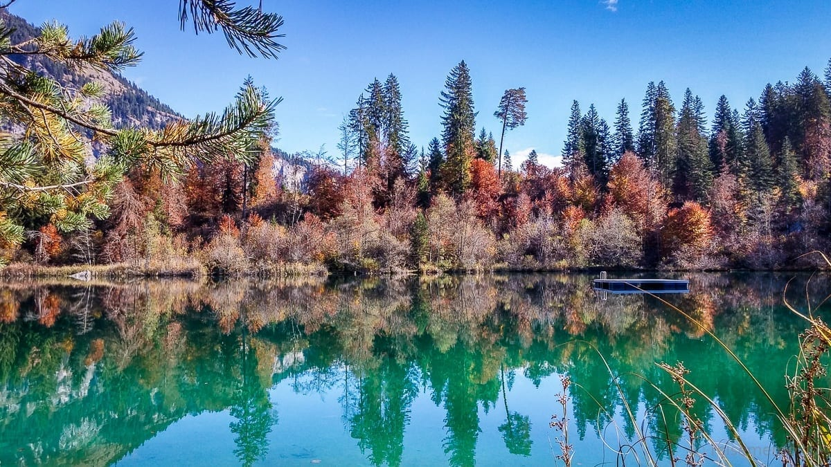 Lake Cresta by Flims