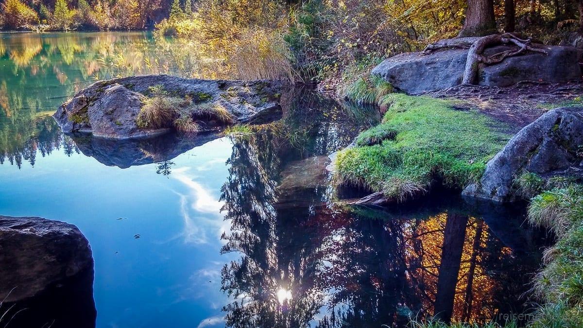 Crestasee bei Flims