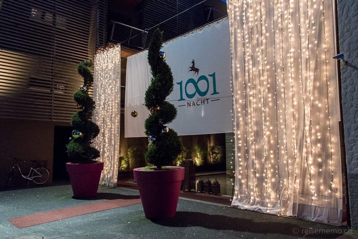 Eingang zu 1001 Nacht