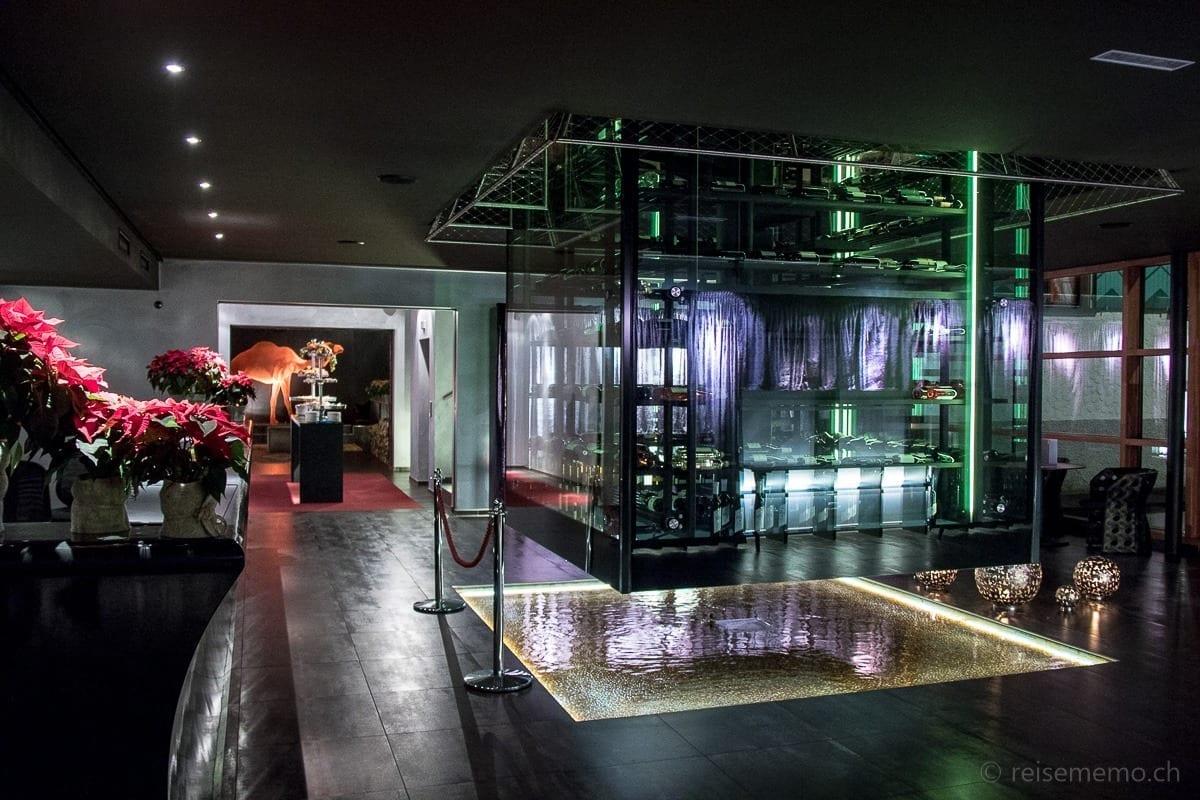 Hotel Lobby des Kuschelhotel Gams