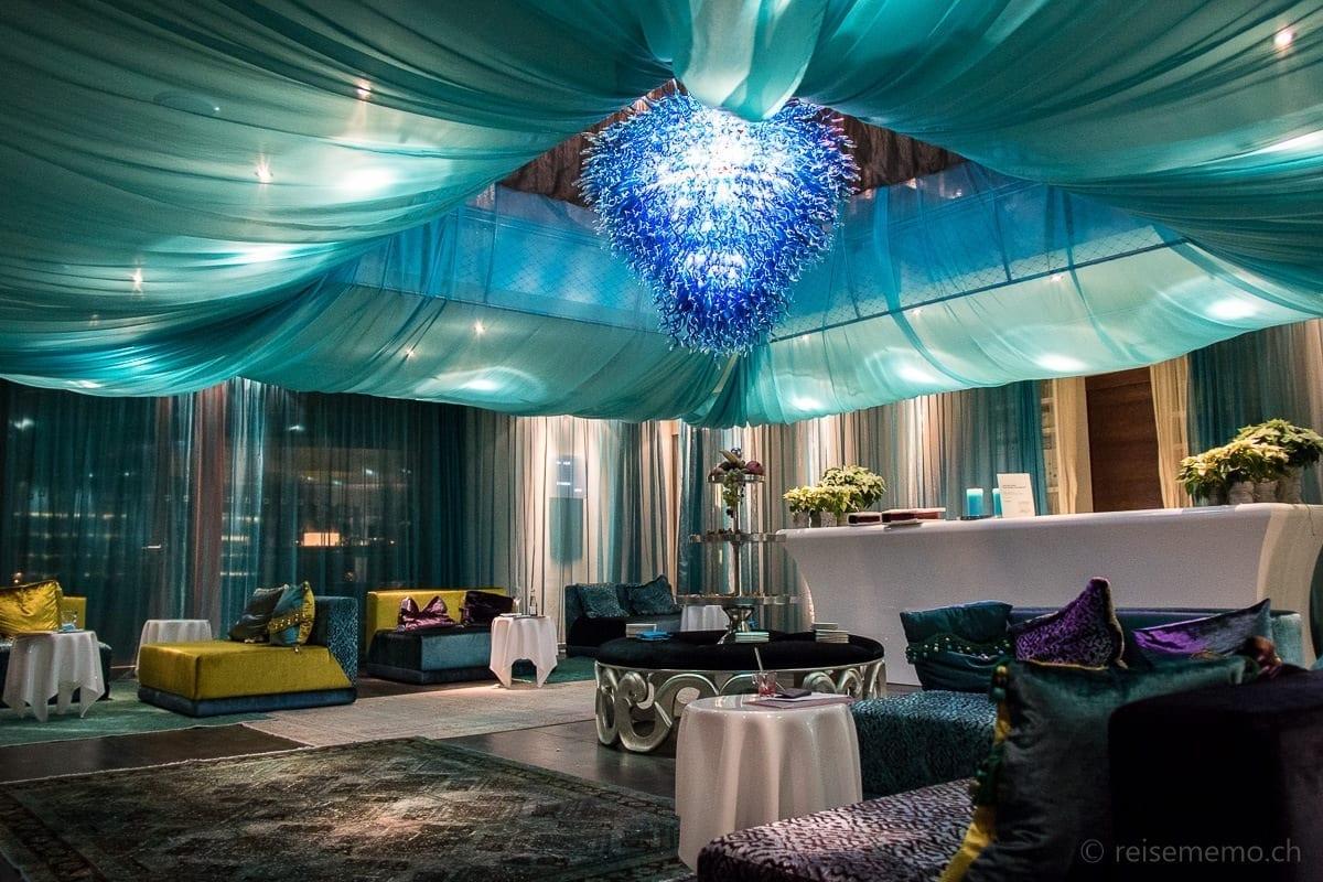 Lobby im Da Vinci Spa