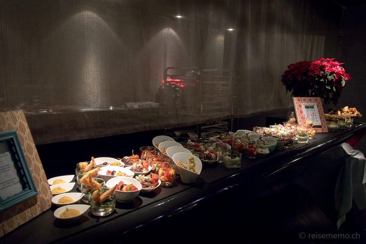 Orientalische Köstlichkeiten vom Buffet