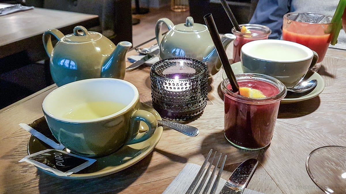 Purple Smoothie und Bloody Mary zum Sonntags-Brunch