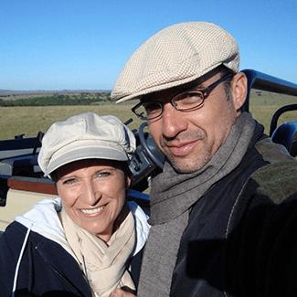 Katja und Walter Schärer unterwegs in Südafrika