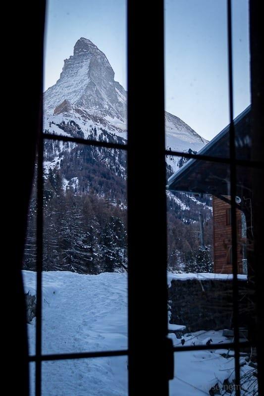 Aussicht auf's Matterhorn von der Turbina aus