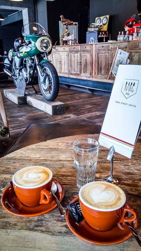 Cappuccino für Petrolheads