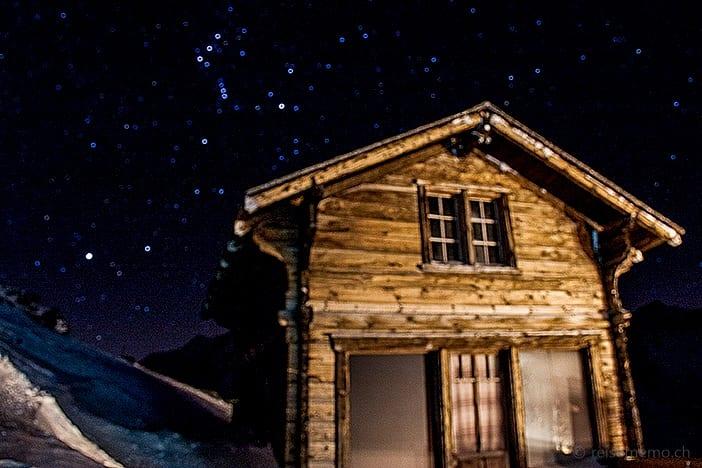 Orion am Sternenhimmel