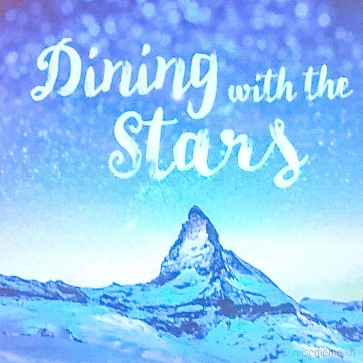 SDining with the stars in Zermatt