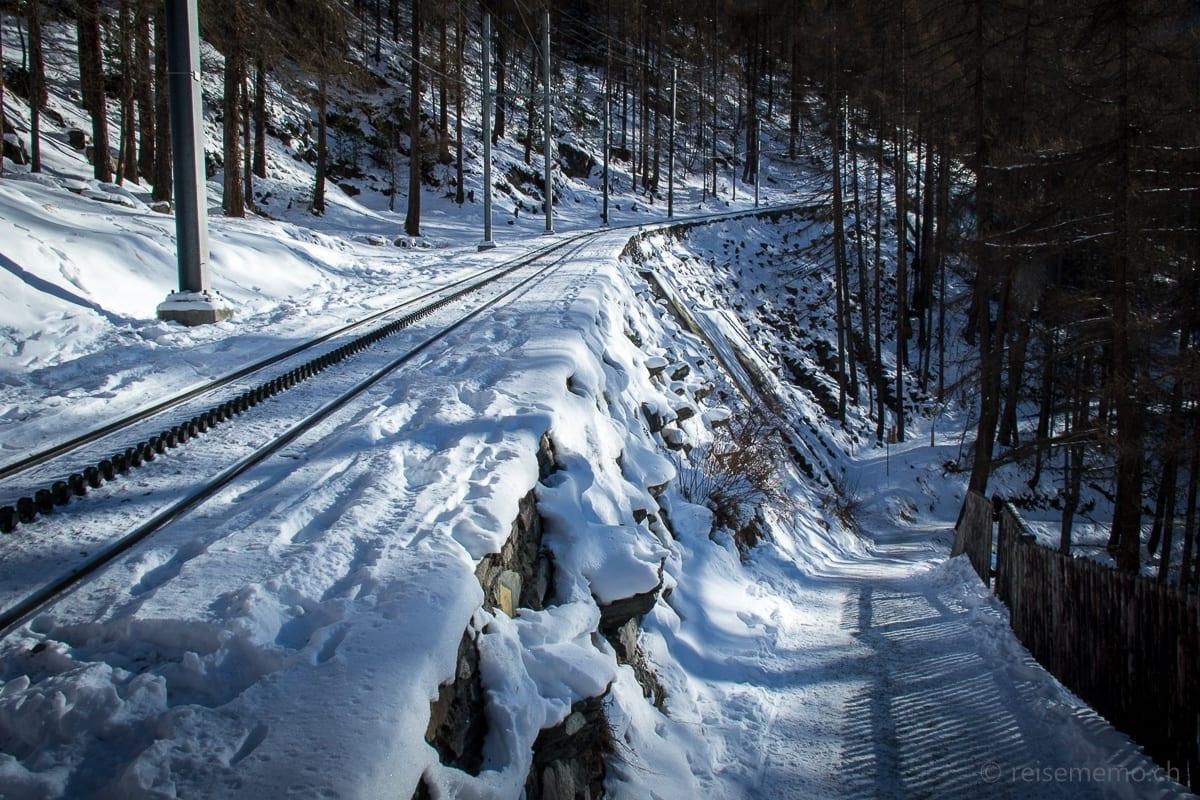 Gornergratbahn Trassee