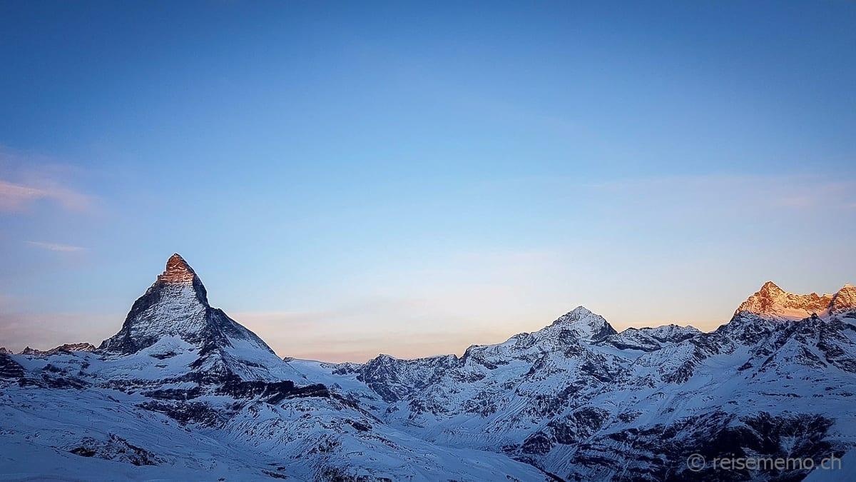Das Matterhorn zur Morgenstund