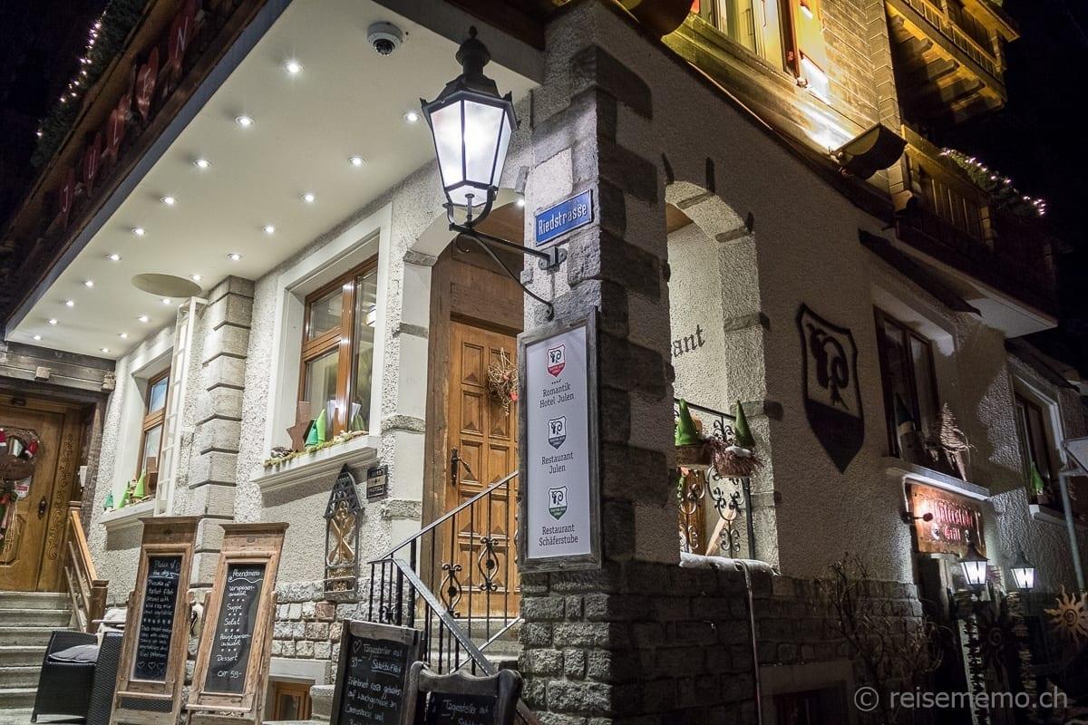 Restaurant Schäferstube Zermatt