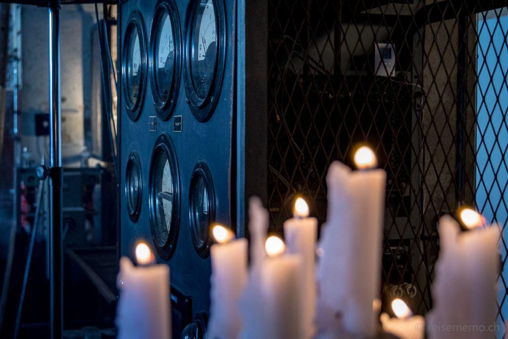 Messinstrumente in Kerzenstimmung