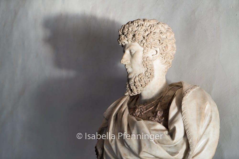 Büste in den Uffizien Florenz