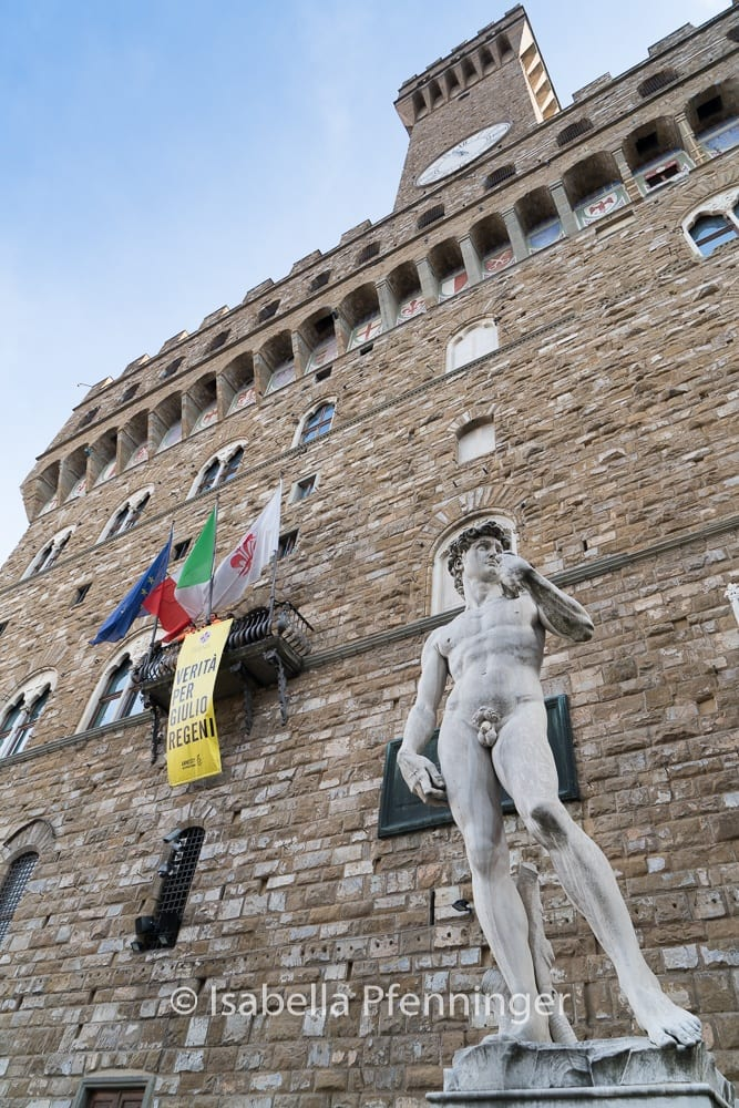Michelangelos David Palazzo Vecchio
