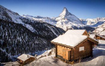 Findeln bei Zermatt Matterhorn