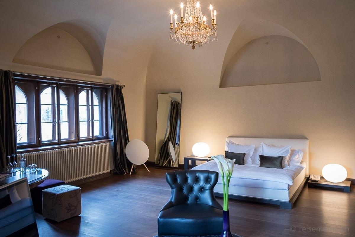 Schlafzimmer Turmsuite Schloss Schauenstein