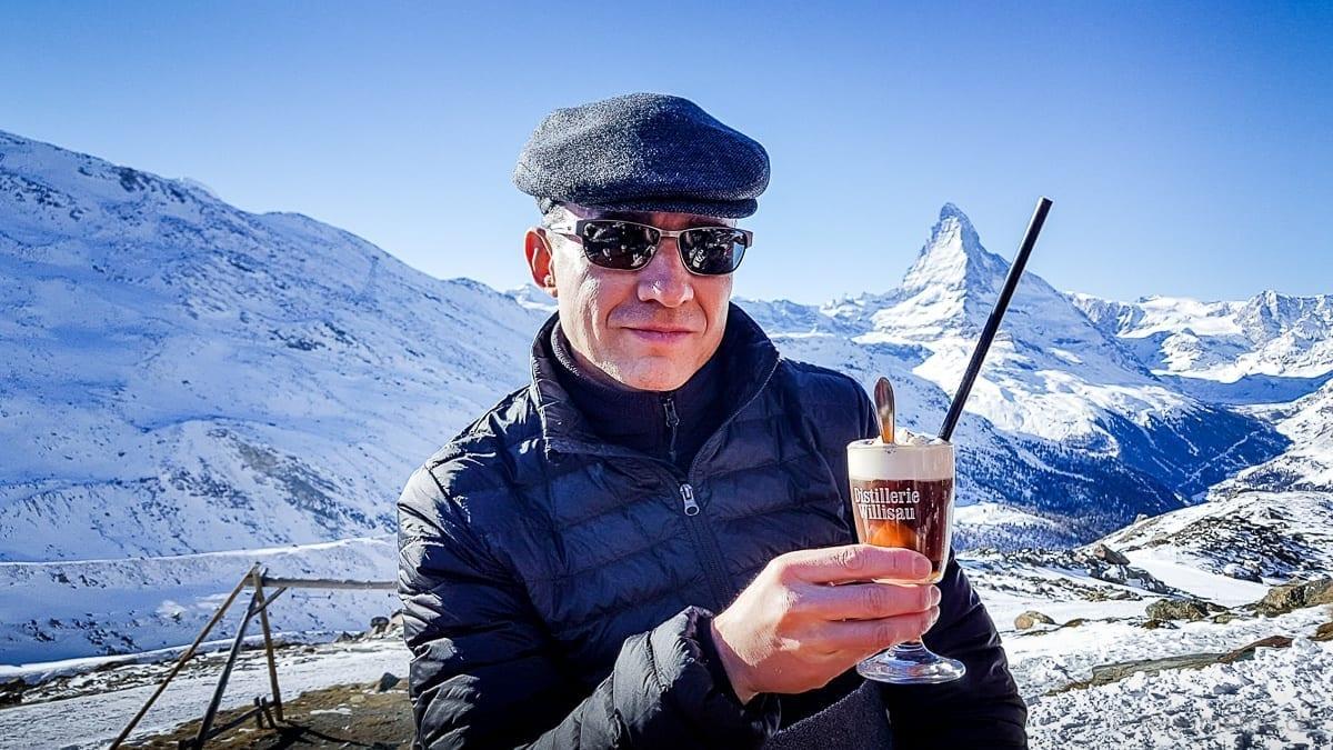 Walter Schärer und sein Kaffee Abricot