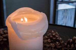 Dekorative Kerze
