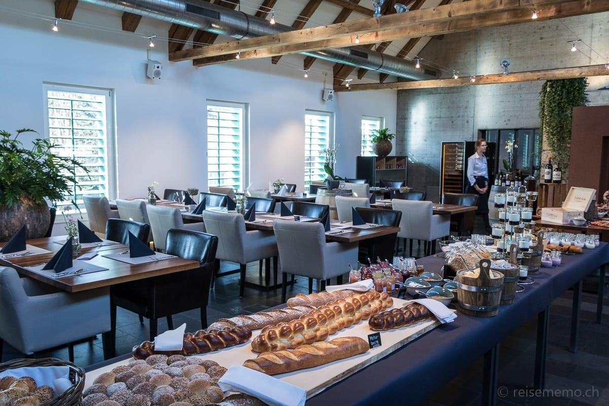 Brunch-Buffet und Restaurant