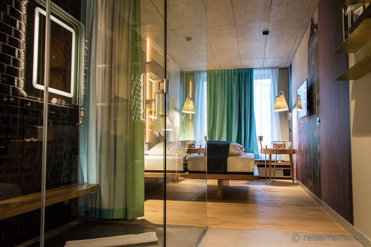 Doppelzimmer im 25hours Langstrasse Hotel