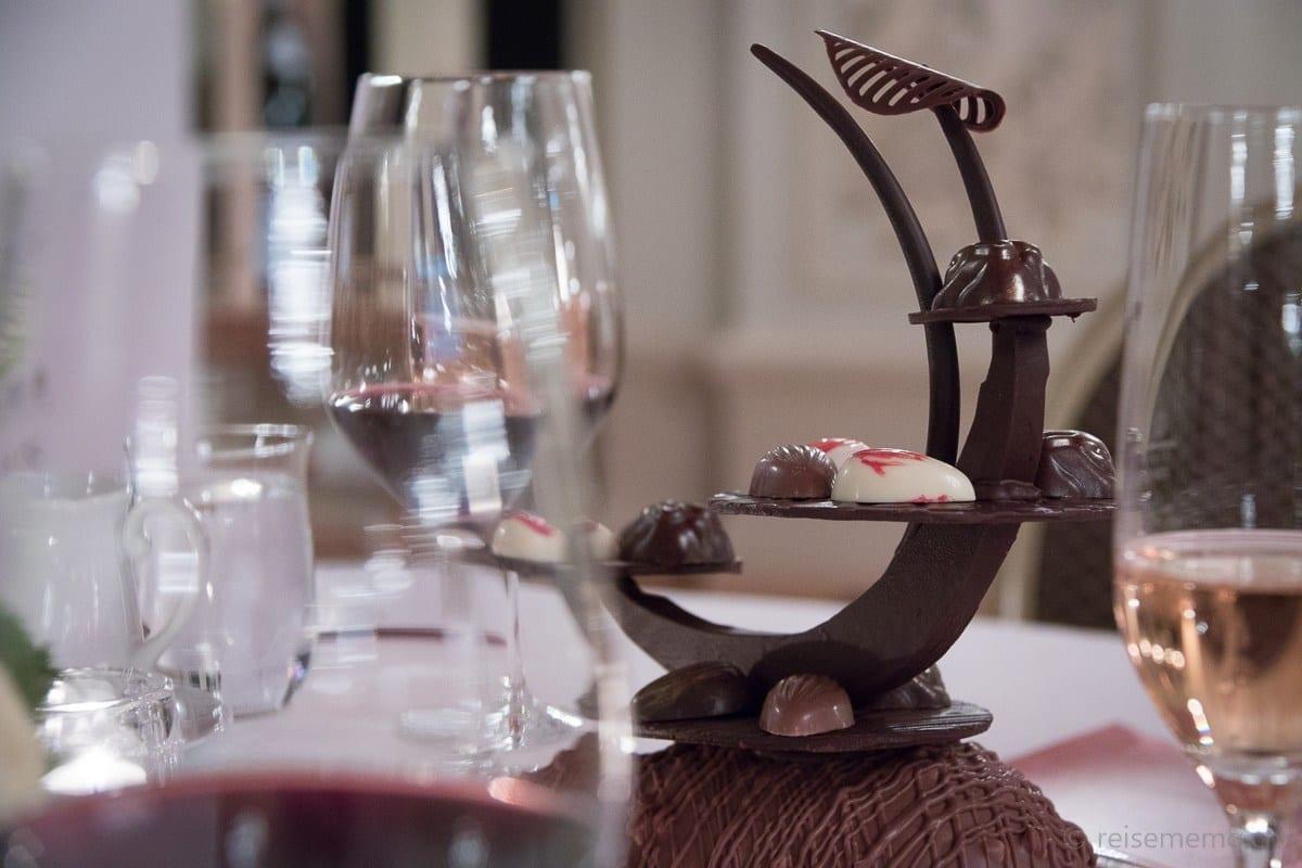 Friandises: Cailler Schokolade-Turm