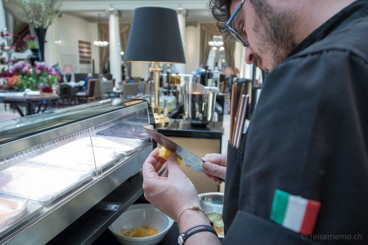 Sushi von Luca Visconti am S. Pellegrino Sapori Ticino