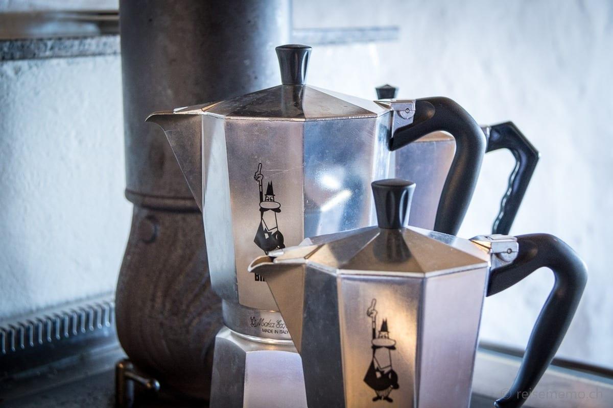 Moka Express Kaffeemaschinen