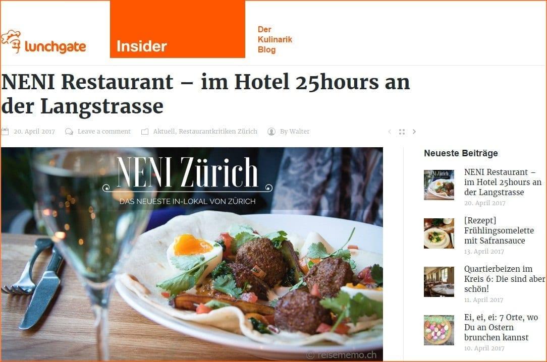 NENI-Review im Lunchgate INSIDER Foodblog