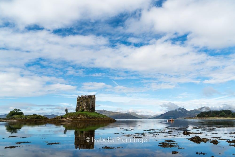 Castle Salker am Loch Laich.