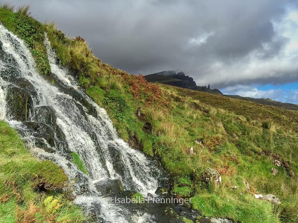 Bride's Veil Wasserfall Schottland