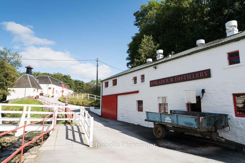 Edradour Distillery Schottland