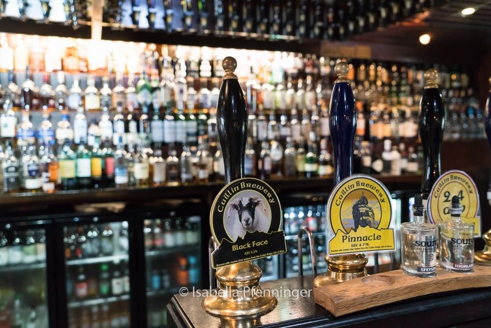 Biertheke in Schottland