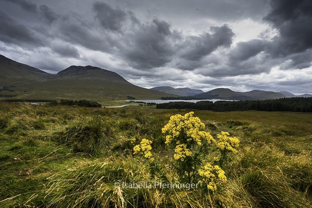 Glencoe in den Highlands Schottland