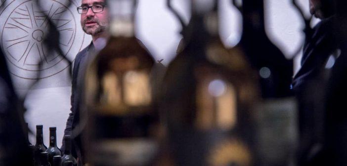 Fabio del Pietro im Weinkeller der Terreni alla Maggia